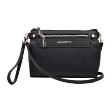jcpenney.com | Liz Claiborne® Elly Convertible Crossbody Wallet