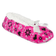 Mixit™ Womens Sherpa Slipper Socks