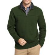 Arrow® Sueded Fleece Quarter-Zip Pullover