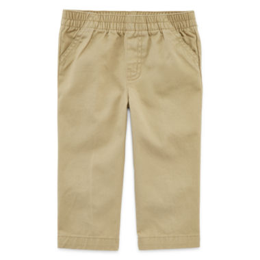 jcpenney.com | Okie Dokie® Twill Pants - Baby Boys newborn-24m
