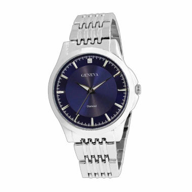 jcpenney.com | Geneva Mens Blue and Silver-Tone Watch