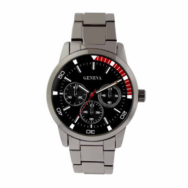 jcpenney.com | Geneva Mens Gunmetal Bracelet Watch