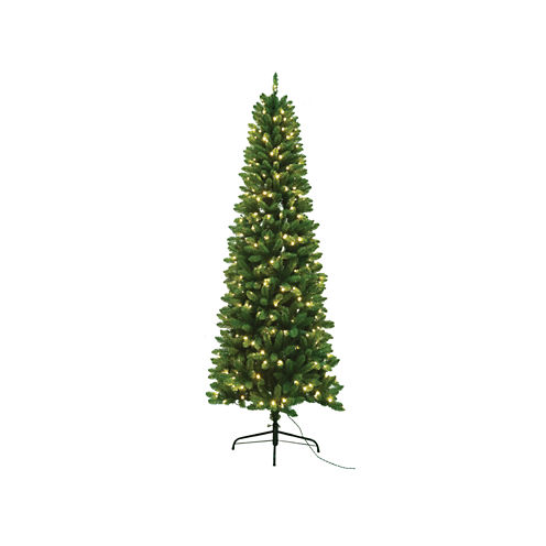 7.5 Ft. PVC Slim Tree With 350 Ul Lights