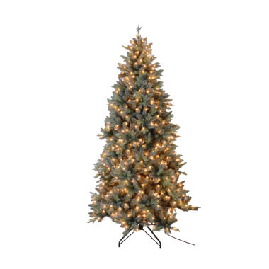 jcpenney.com | 7.5 Ft. Blue Spruce Tree With 650 Ul Lights