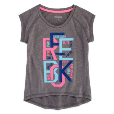 jcpenney.com | Reebok Graphic T-Shirt-Toddler Girls