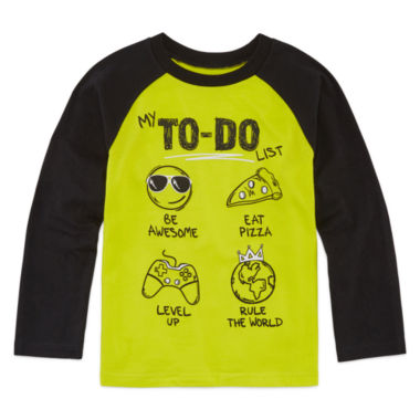 jcpenney.com | Okie Dokie Graphic T-Shirt-Preschool Boys