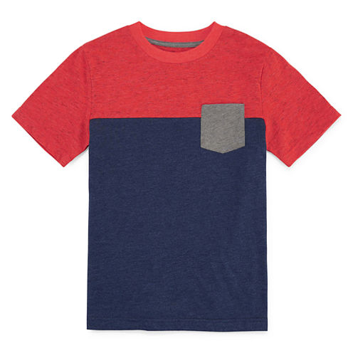 Arizona Short-Sleeve Colorblock Tee - Boys 8-20 and Husky