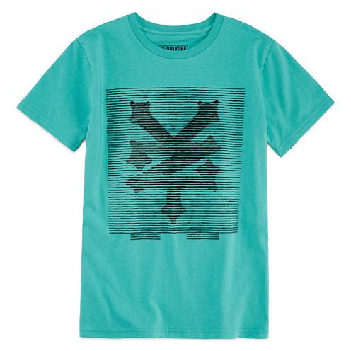 Zoo York Boys Short Sleeve T-Shirt-Big Kid