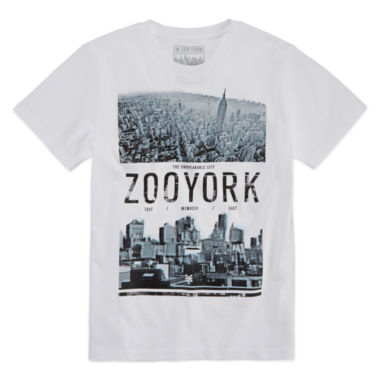 jcpenney.com | Zoo York Boys Over the Top Short Sleeve   T-Shirt-Big Kid