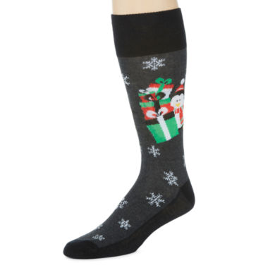 jcpenney.com | Reckless® Holiday Novelty Crew Socks