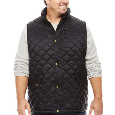 jcpenney.com | The Foundry Big & Tall Supply Co. Quilted Vest Big and Tall