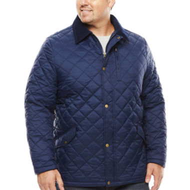 jcpenney.com | The Foundry Big & Tall Supply Co. Quilted Jacket-Tall