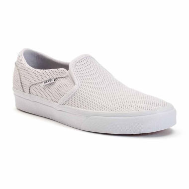 jcpenney.com | Vans® Perforated Leather Asher  Womens Skate Shoes