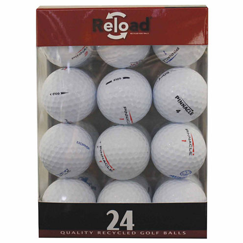 24 Pack Pinnacle Recycled Golf Balls.