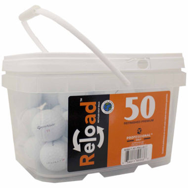 jcpenney.com | 50 pack Taylormade Project (a) Refinished Golf Balls in a reusable plastic bucket with handle