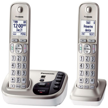 jcpenney.com | Panasonic DECT 6.0 Cordless Telephone and Answering System