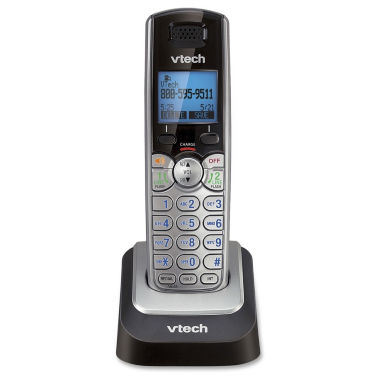 jcpenney.com | VTech DS6101 DECT 6.0 2-Line Cordless Phone Accessory Handset with Caller ID and Speakerphone