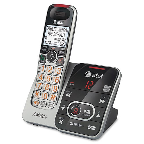 AT&T CRL32102 DECT 6.0 Cordless Answering System with Caller ID/Call Waiting