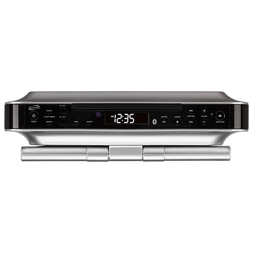 iLive Undercabinet Audio Center with Bluetooth, DVD Player, CD Player and Radio