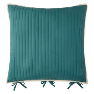 jcpenney.com | JCPenney Home™ Tapestry Stripe Euro Pillow
