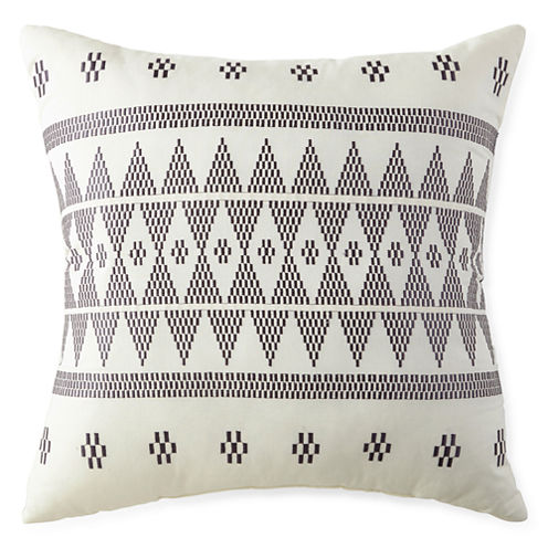 Miller Stripe Square Decorative Pillow