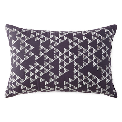 Miller Stripe Oblong Decorative Pillow