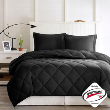 jcpenney.com | Larkspur Microfiber Reversible Down Alternative Comforter Set