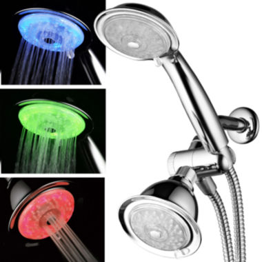 jcpenney.com | HotelSpa® 7-Color 24-Setting LED Combo Showerhead