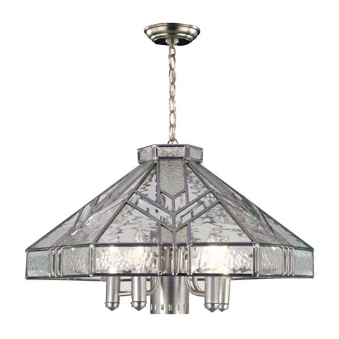 Dale Tiffany™ Antique Silver Hanging Fixture