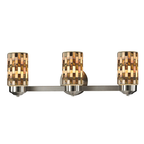 Dale Tiffany™ Kalmia 3-Light Mosaic Vanity Lights
