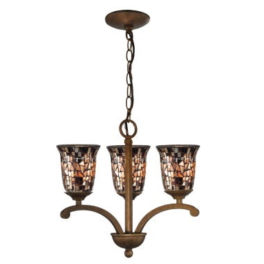 jcpenney.com | Dale Tiffany™ Amber Shell Mosaic Hanging Fixture