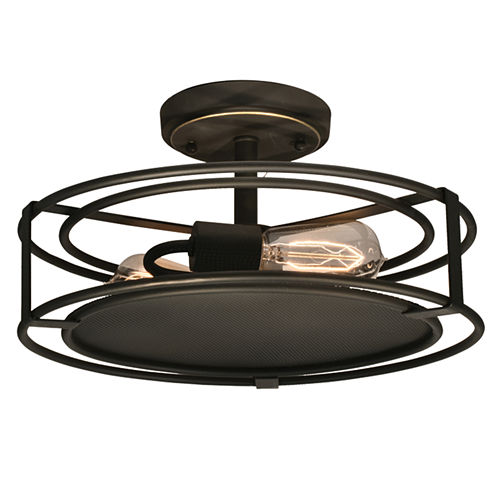 Dale Tiffany™ LED Peter Semi Flush Mount