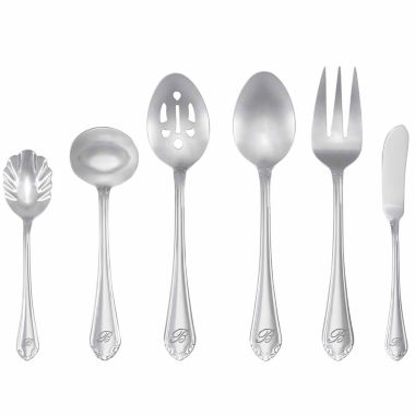 jcpenney.com | RiverRidge Royalty 46 Pc Personalized or Solid Flatware Set