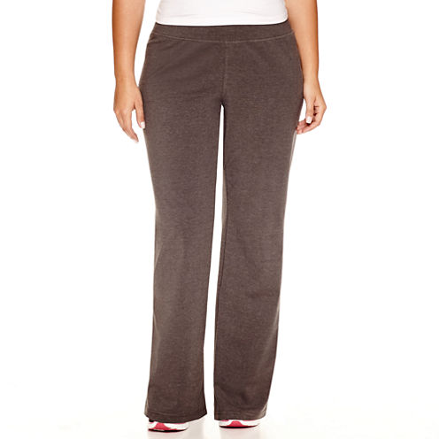 """Made For Life Jersey Workout Pants-Plus (31.5"""""""