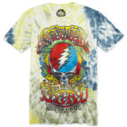 Grateful Dead 15th Anniversary Tie-Dye Graphic Tee