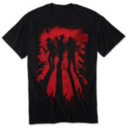Walking Dead Silhouettes Graphic Tee