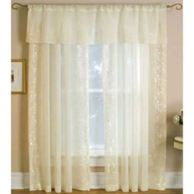 jcpenney.com | Addison Rod-Pocket Sheer Panel