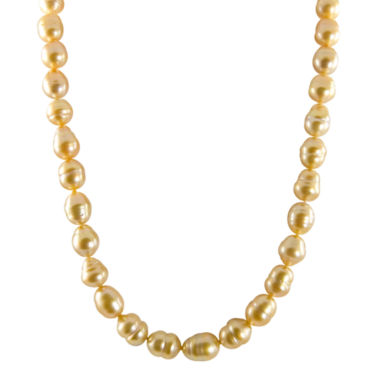 jcpenney.com | 14K Golden South Sea Pearl Necklace