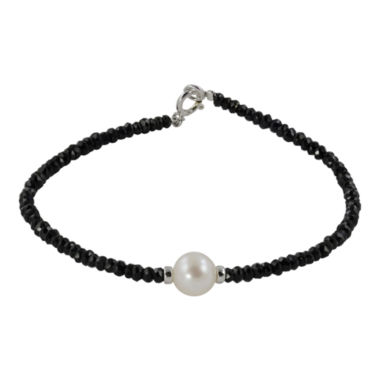 jcpenney.com | Cultured Freshwater Pearl & Genuine Onyx Bracelet