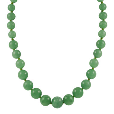 jcpenney.com | 14K Gold Jade Graduated Bead Necklace