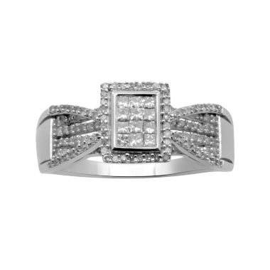 jcpenney.com | ½ CT. T.W. Diamond Bridal Ring