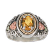 Black Hills Gold® Sterling Silver Citrine Ring