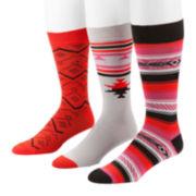 MUK LUKS® 3-pk. Men's Socks