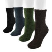 MUK LUKS® 4-pk. Men's Micro Chenille Socks