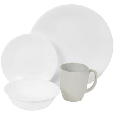 Corelle® Livingware™ Winter Frost 16-pc. Dinnerware Set  sc 1 st  JCPenney & Corelle Livingware 16 pc Winter Frost Dinnerware Set