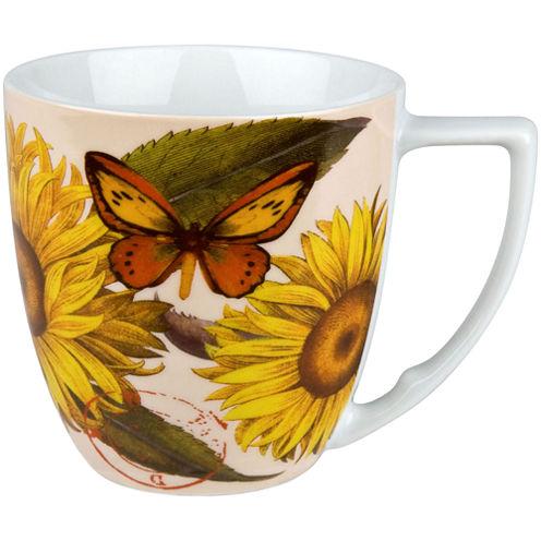 Waechtersbach Nature Set of 4 Sunflower Mugs