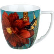 Impressions Set of 4 Dahlia Mugs