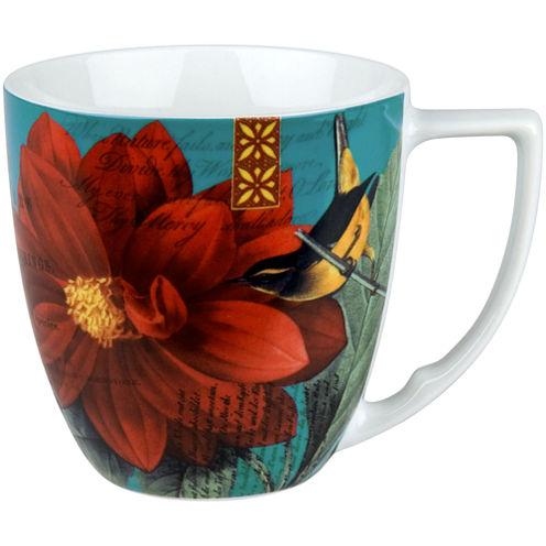 Impressions Set of 4 Dahlia Mugs