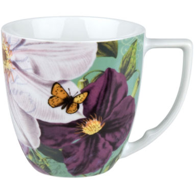 jcpenney.com | Impressions Set of 4 Clematis Mugs