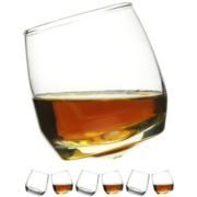 Rocking Set of 6 Whiskey Glasses